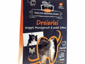 """Käse für den Hund - """"Dreierlei von Qchefs"""""""