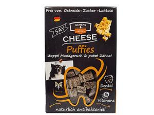 Puffies - Käse Hundesnack von Qchefs
