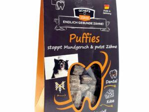 Zahnhygiene Hund: Puffies von Qchefs