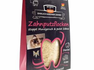 Zahnhygiene Katze: Zahnputzflocken von qchefs