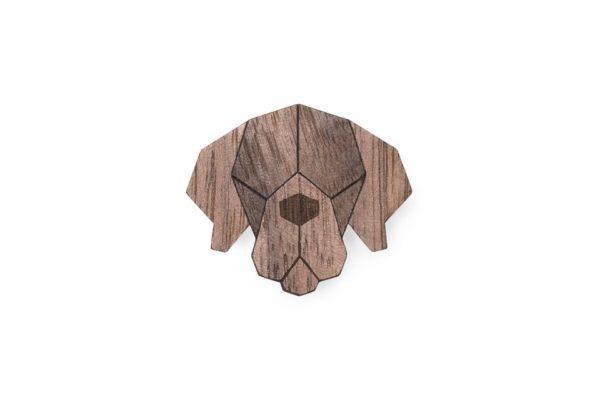 brosche mastiff bewooden
