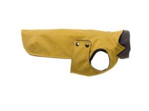 Hunderegenjacke in Gelb - wasserabweisend & verstellbar