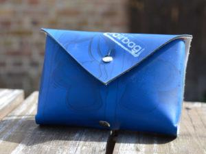 Leckerlitasche fairbag blau viereckig