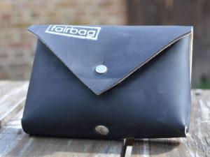 leckerlitasche fairbag schwarz viereckig