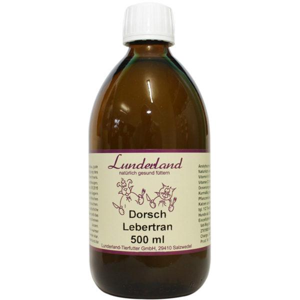 Dorsch Lebertran Lunderland 500ml
