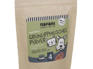gruenlippmiuschel napani hund