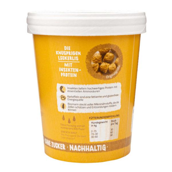 Insekten Snacks für nachhaltigen Konsum - Tenetrio