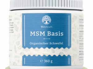 msm basic organischer schwefel