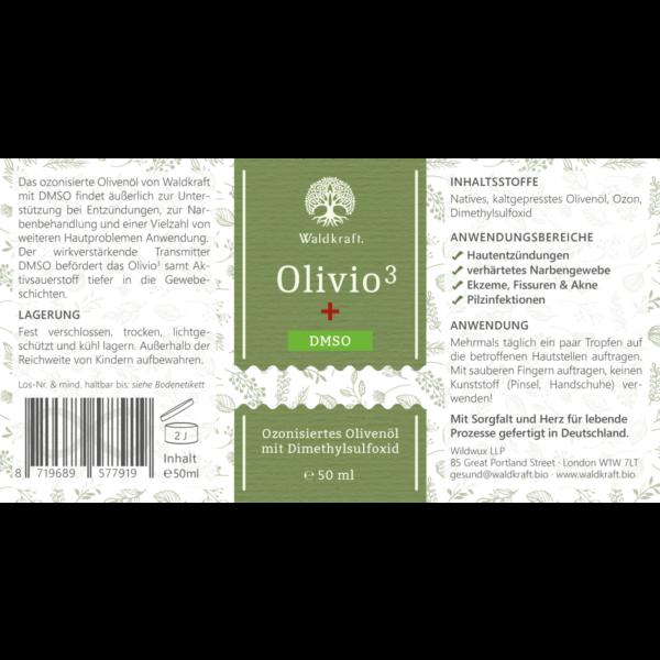 olivenoel ozonisiert mit demso waldkraft