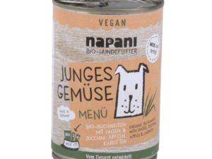 Hundefutter ohne Fleisch: Junges Gemüse napani