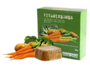 fleischeslust vitaminbombe karotte fuer Hunde