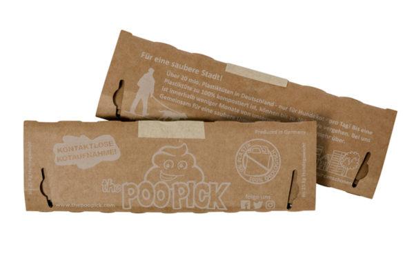 Hudnekotbeutel plastikfrei von Poopick