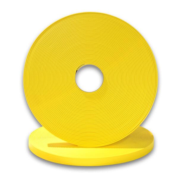 Biothane Schleppleine in Gelb