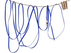 Hundeleine aus Biothane in Blau - 7,5 m lang