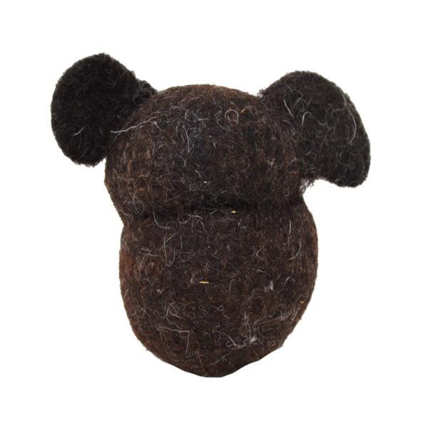 Hundespielzeug Teddy aus Bio-Filz