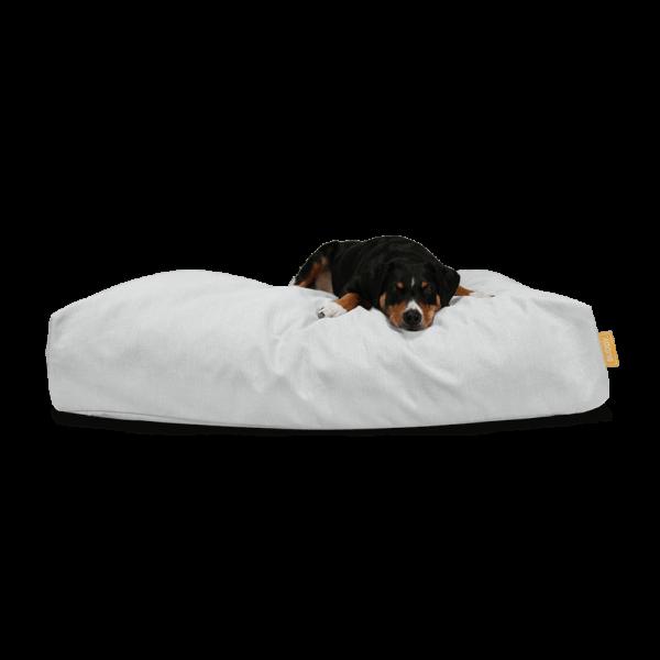 BUDDY Hundebett STONE - hellgrau