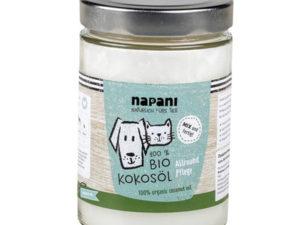 Bio Kokosöl für Hunde und Katzen - napani
