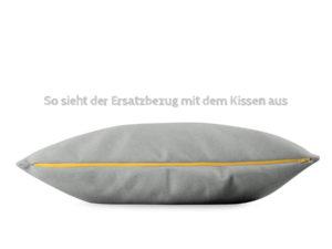 Wechselbezug für BUDDY Kissen in Grau