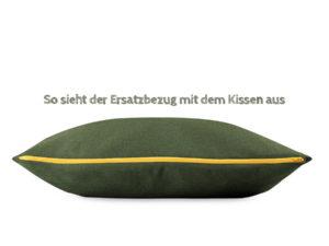 Wechselbezug für BUDDY Kissen in Grün