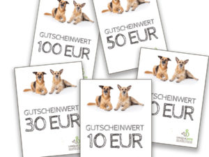 Geschenk-Gutscheine von UNIQUE DOG