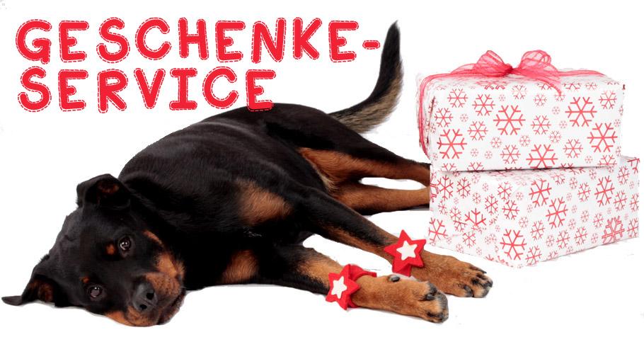 Geschenke Service für Hunde und Katzen