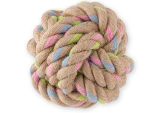 Hundeball aus Seil: Becoball aus Naturhanf