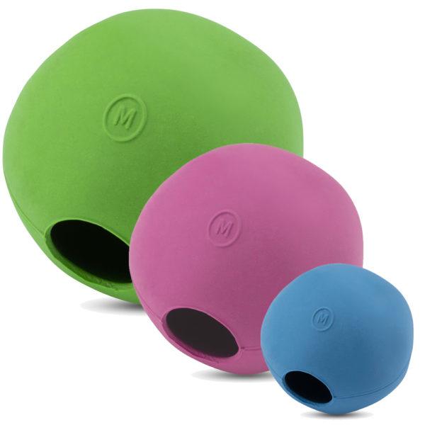 Hundespielzeug bio - Becoball in drei Farben