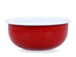 Emailleschüssel in Rot - von UNIQUE DOG