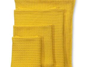Kuscheldecke für Hund und Halter in Gelb - von BUDDY