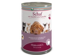 """Sensitiv Hundefutter """"Schaf mit Zucchini und Kartoffel"""" von Herrmann's"""