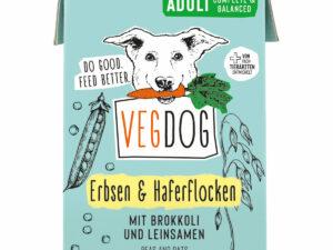 Nachhaltiges Hundefutter - vegan & in Tetra-Pak