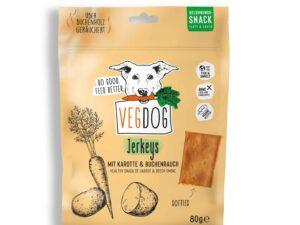 Vegane Hundeleckerli Jerkeys von VEGDOG